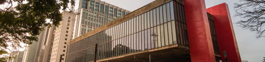 masp - museu de arte de sao paulo, brasil