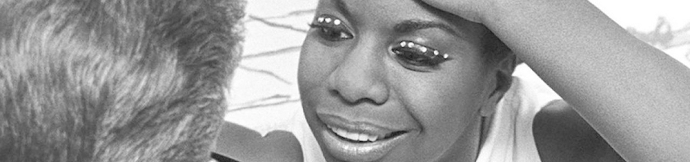 A cantora e ativista Nina Simone.