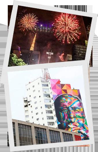 Imagens icônicas da Paulista