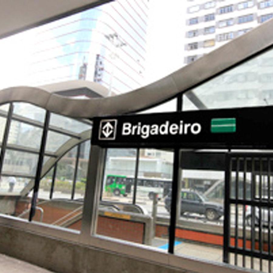 Proximidades da moradia estudantil Uliving Jardins metro Brigadeiro