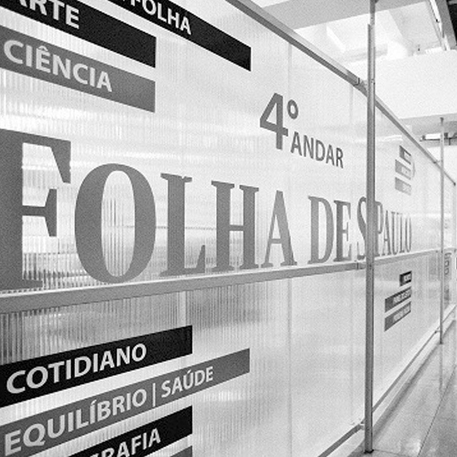 Proximidades da moradia estudantil Uliving Centro Folha de São Paulo